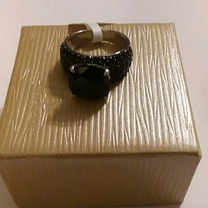 JTV Jewelry - BLACK SPINEL RING, SIZE 9